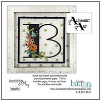 Alphabet B Perforated Paper Kit