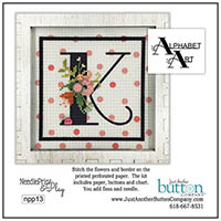 Alphabet K Perforated Paper Kit