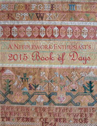 A Needlework Enthusiast's Book of Day for 2015