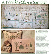 1799 Mother's Sampler