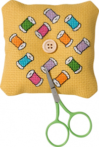 Spools Needlepillow Kit