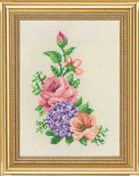 Rose & Hydrangea Flowers Kit