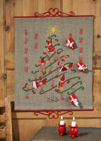 Christmas Tree Advent Calendar Kit