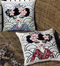 Blue Geisha Kit (Pillow at Top)