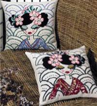 Blue Geisha Kit (Pillow at Top)