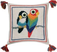 Birds Pillow Kit