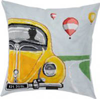 Yellow WV Bug Pillow Kit