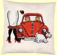 Red VW Cushion Kit