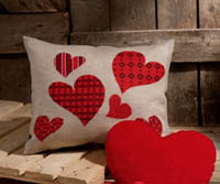 Hearts Cushion Kit