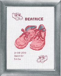 Beatrice Birth Announcement Kit
