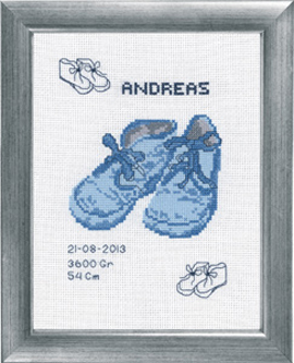 Andreas Birth Announcement Kit