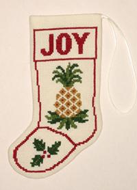 Pineapple Stocking Ornament Kit