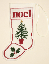Christmas Tree Stocking Ornament Kit