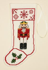 Nutcracker Stocking Ornament Kit