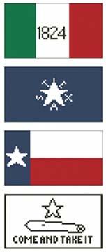 Texas Flags Kit