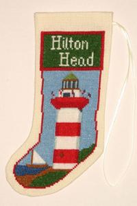 Hilton Head Lighthouse Stocking Ornament Kit