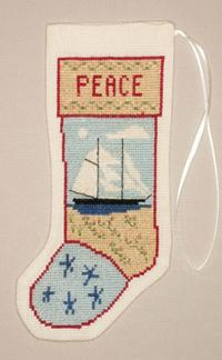 Kedron Schooner Stocking Ornament Kit