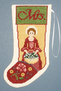 Mrs Colonial Stocking Ornament Kit