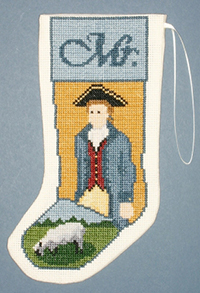 Mr Colonial Stocking Ornament Kit
