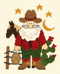 Cowboy Santa Kit