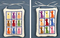Cat and Dog Ornaments Kit