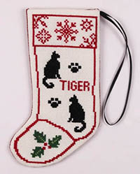 Cat Stocking Ornament Kit