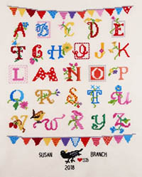 Alphabet - Susan Branch Kit