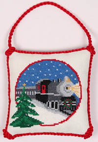 Christmas Train Ornament Kit