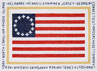 Colonial Flag -First Stars and Stripes Kit