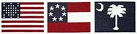 Flags of Fort Sumter Kit