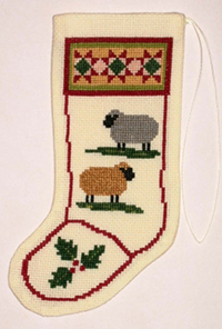 Colonial Sheep Stocking Ornament Kit