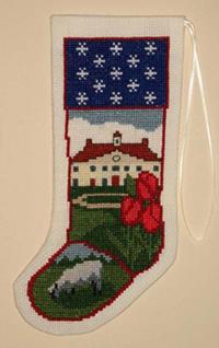 Mount Vernon Stocking Ornament Kit