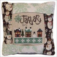 January Small Pillow Kit