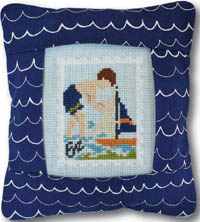 Special Delivery - June Postal Stamp Pillow Kit