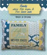 Words of Wisdon - Family Never Ends Kit
