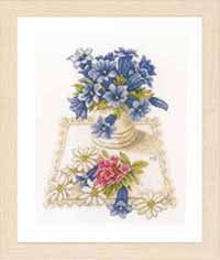 Blue Flowers Kit