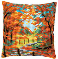 Autumn Landscape Cushion Kit