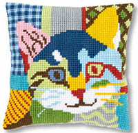 Modern Cat Cushion Kit