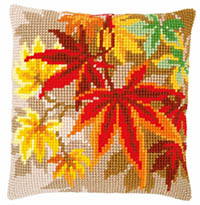 Autumn Leaves Cushion Kit