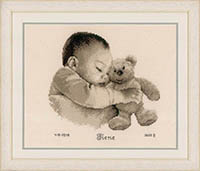 Baby & Bear Birth Announcement Kit
