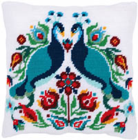 Pauline the Peacock Tapestry Cushion by a Maison Victor
