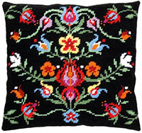 Folklore VI Tapestry Cushion by a Maison Victor