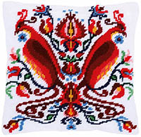 Felix the Fenix Tapestry Cushion by a Maison Victor