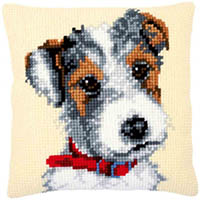 Dog with Red Collar Cushion Kit