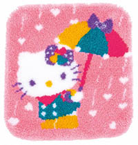 Hello Kitty A Shower of Hearts
