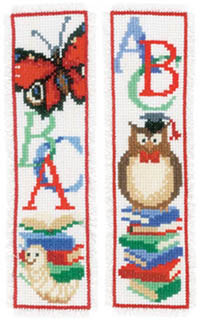 Owl & Worm Bookmark Set Kit