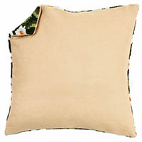Cushion Back Without Zipper - White, Ecru, Grey, or Black