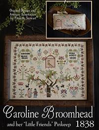 Caroline Broomhead 1838 & Little Friends Pinkeep
