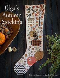 Olga's Autumn Stocking