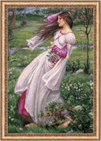 Wildflowers - After JW Waterhouse's Painting Kit